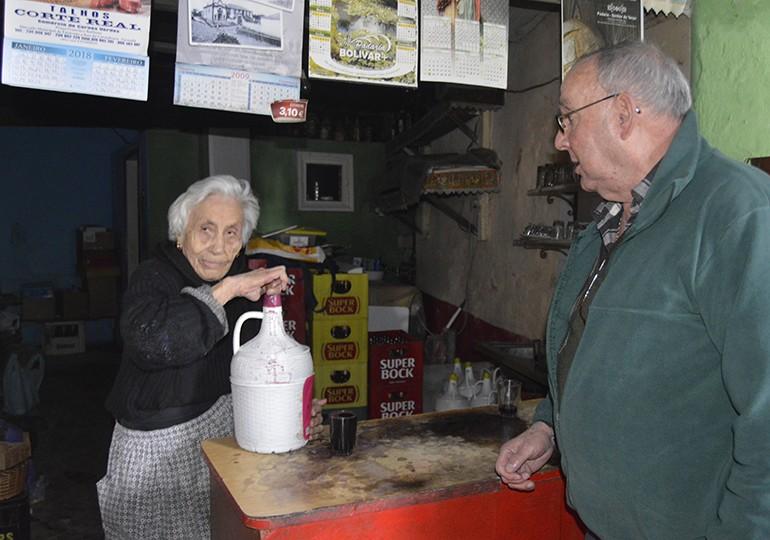 Ilda Ferreira e Vicente Lopes 76 anos