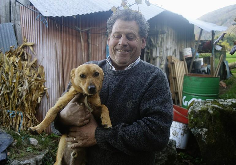 Alcino Silva, dono do Bobi