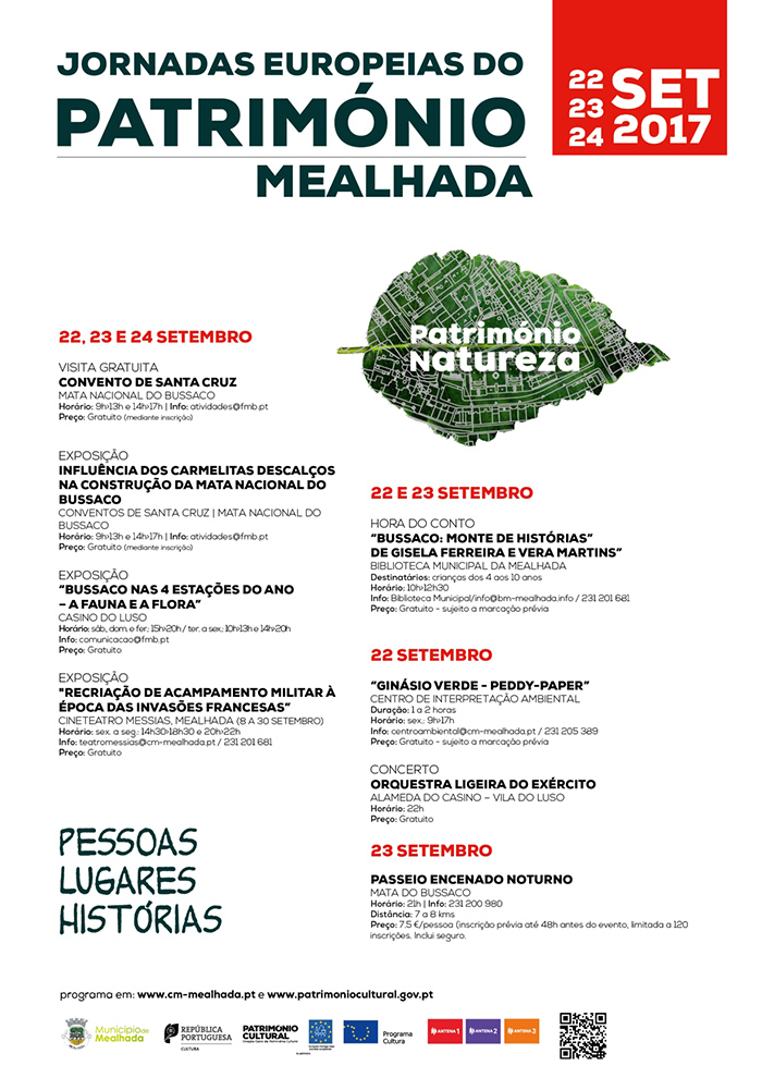 Cartaz das Jornadas Europeias do Património
