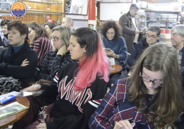 Os Reis cantaram no Café Ideal